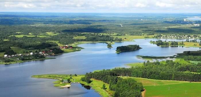 озеро белое тверская область видео